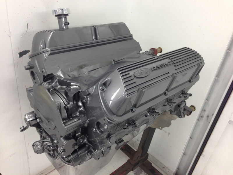 1969 Ford Mustang Ford Racing Crate Engine Wilson Auto