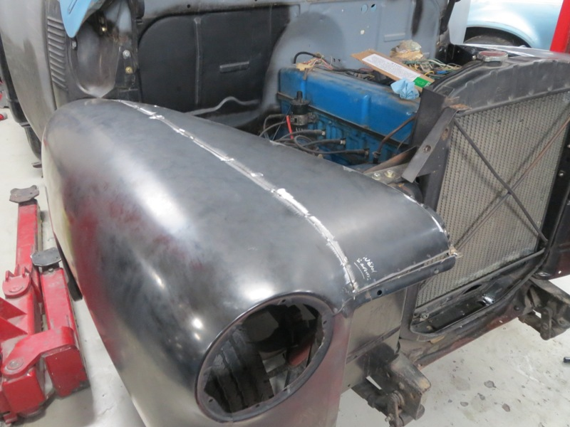 1953 Chevrolet Truck Hood Gap And Fitting Fenders To The