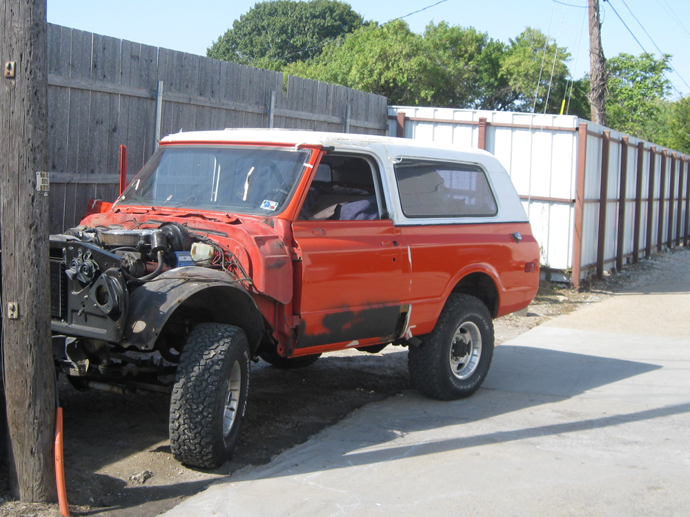 Best Classic Chevy Blazer Restoration Photos from Wilson ...