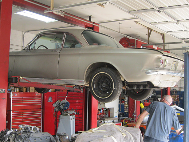 Best Classic Chevy Corvair Restoration Photos From Wilson