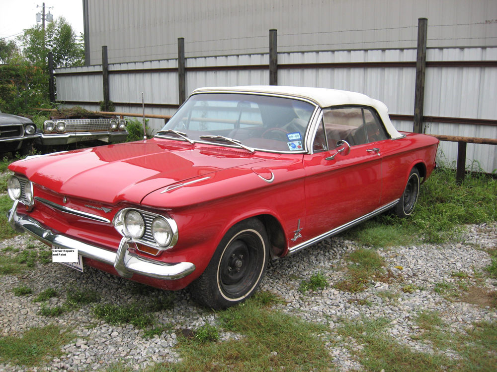 Best Classic Chevy Corvair Restoration Photos from Wilson Auto Repair
