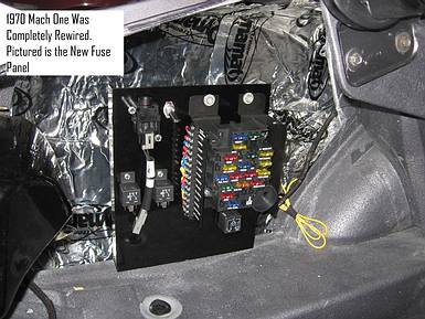 classic ford mustangs electrical systems repaired  restored