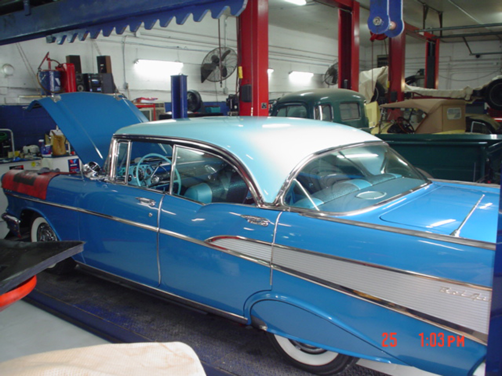 Best Classic Tri Five Chevy Restoration Photos From Wilson