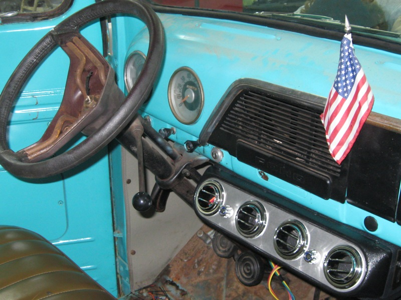 1951 Ford F1 Pickup – Installing the Air Conditioning ...