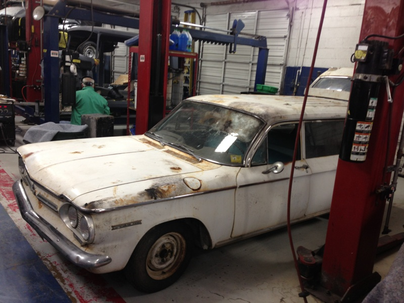 62 corvair beginning pictures #1
