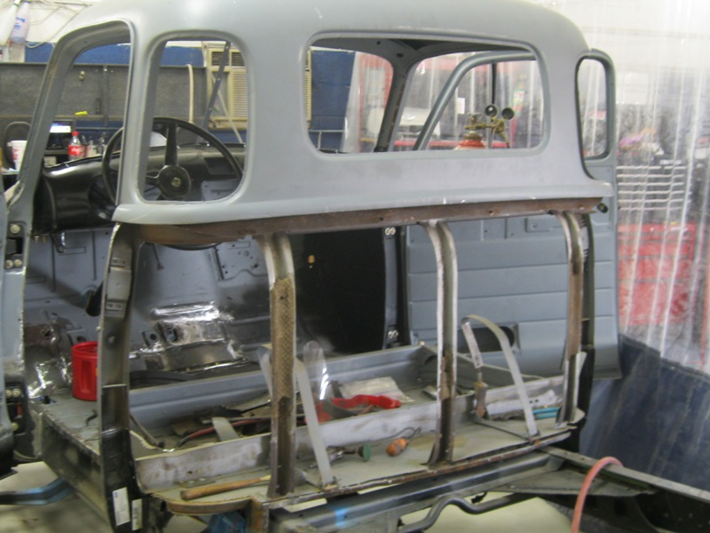 1953 Chevrolet Truck – Cab Fabrication - Wilson Auto Projects