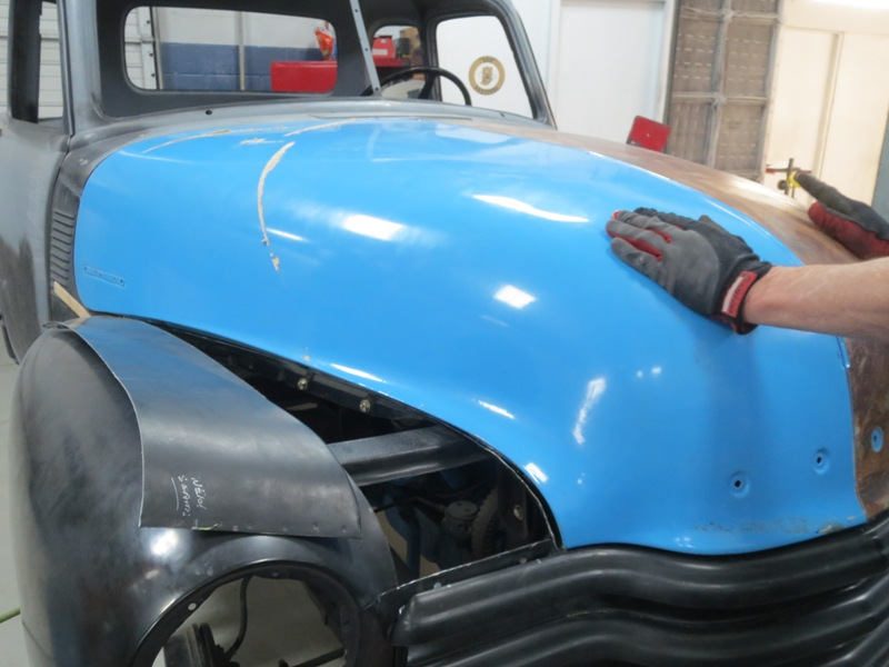 1953 Chevrolet Truck – Hood Gap and Fitting Fenders to the ...