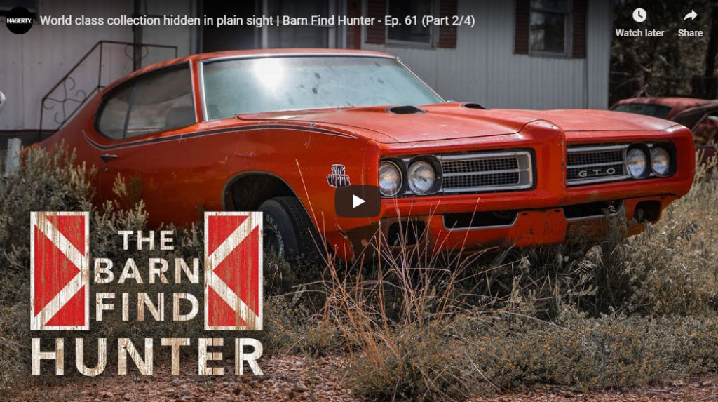 """An Amazing """"Barn Find"""" in Lubbock, Texas, But Nothing is For"""